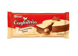 Harald Confeiteiro Barra Cobertura Fracionada Chocolate Branco 1,050 kg