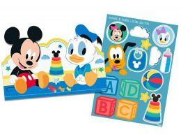 Kit Decorativo Baby Disney Mickey