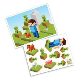 Kit Decorativo Pixels