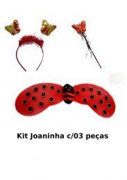 Kit Joaninha c/03 peças - unidade