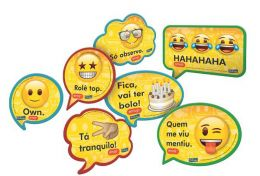 Kit Placas Emoji c/09 unidades