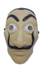 Máscara La Casa de Papel Salvador Dalí c/01 unidade