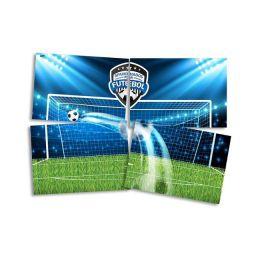 Painel 4 Laminas Apaixonados Por Futebol