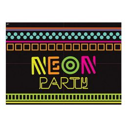 Painel 4 Laminas Neon Party