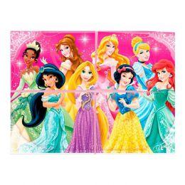 Painel 4 Laminas Princesas