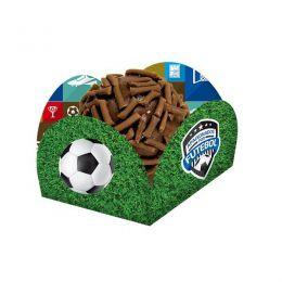 Porta Forminha Apaixonados Por Futebol c/40 unidades