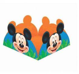 Porta Forminha Mickey Diversão c/50 unidades