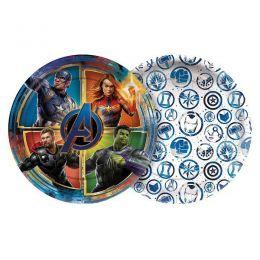 Prato Decorado Avengers 4 c/08 unidades