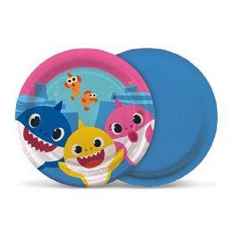 Prato Decorado Baby Shark c/08 unidades
