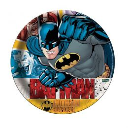 Prato Decorado Batman c/08 unidades