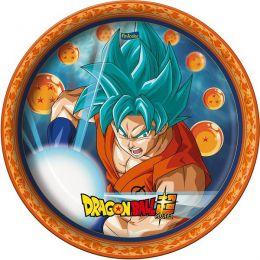 Prato Decorado Dragon Ball c/08 unidades