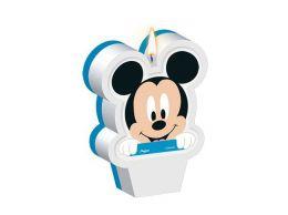 Vela Decorada Baby Disney Mickey