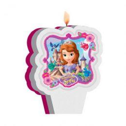 Vela Decorada Princesinha Sofia