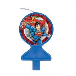 Vela Decorada Superman