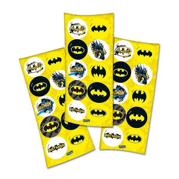 Adesivo Batman c/30 unidades