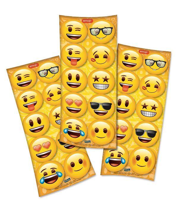 Adesivo Emoji c/30 unidades