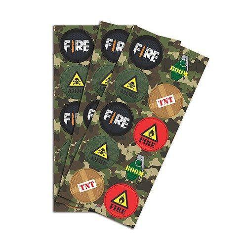 Adesivo Festa Fire c/30 unidades