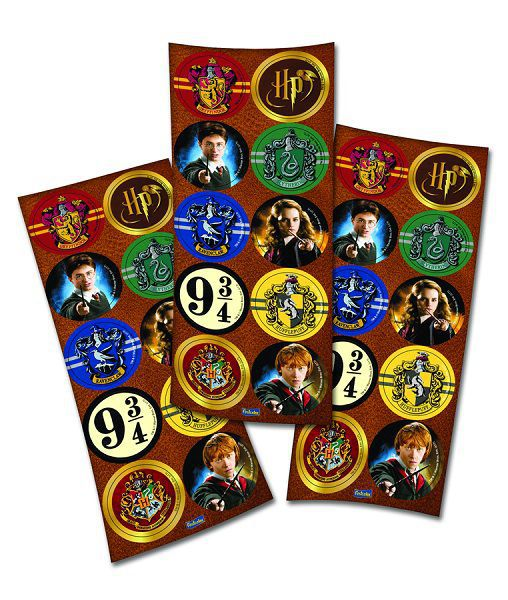Adesivo Harry Potter c/30 unidades