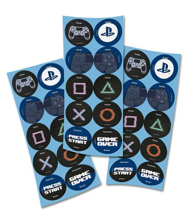 Adesivo PlayStation c/30 unidades