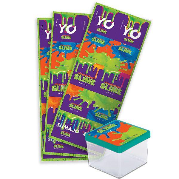 Adesivo Quadrado Slime c/30 unidades
