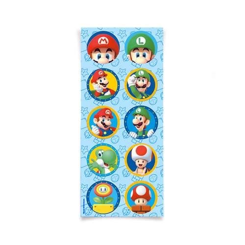 Adesivo Super Mario c/30 unidades