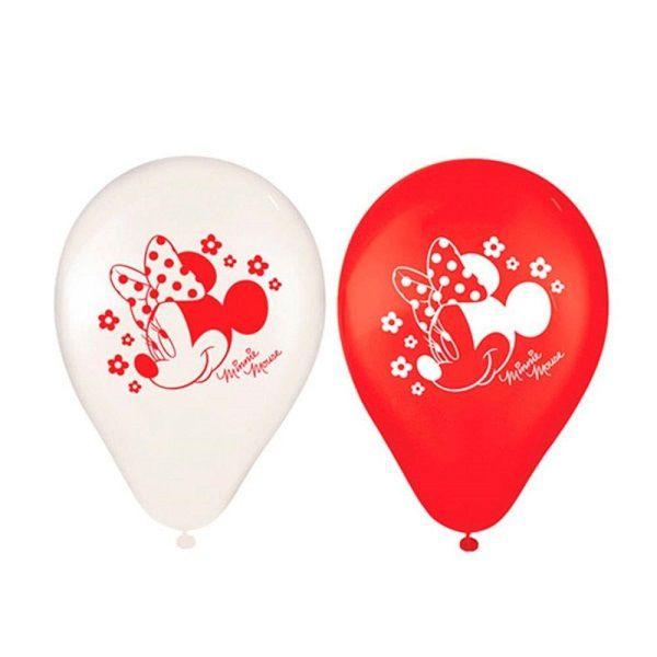 """Balão Decorado 9"""" Minnie c/25 unidades"""