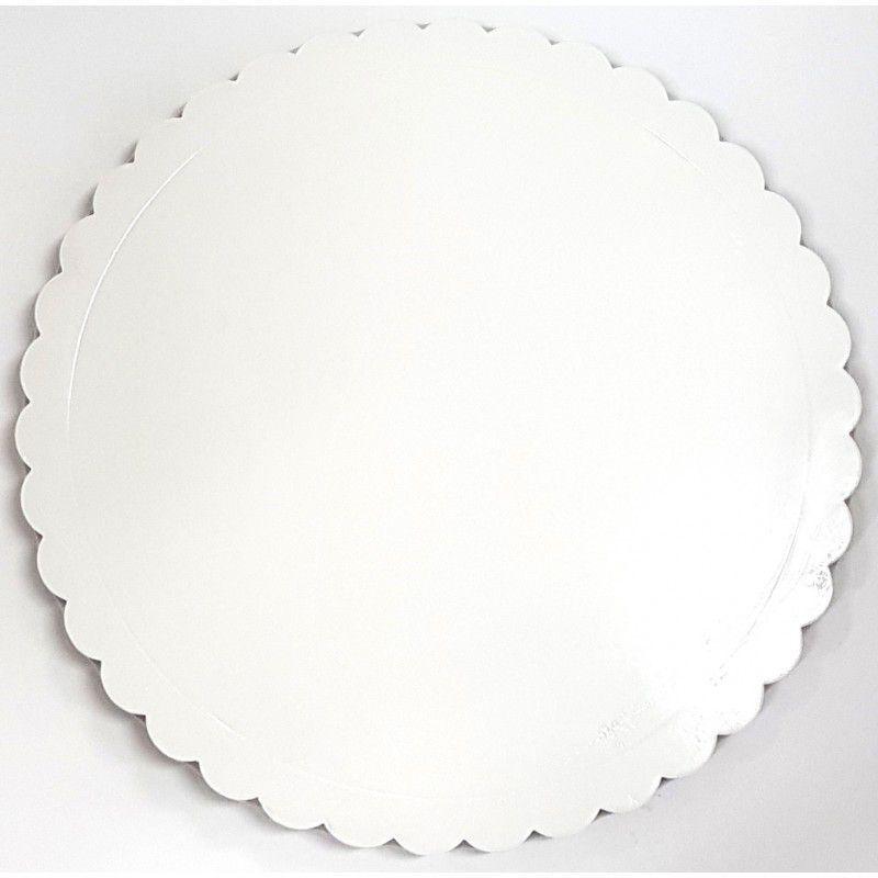 Base para Bolo Cakeboard Papieri Branco 32 cm - unidade