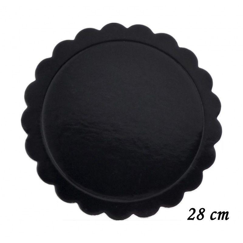 Base para Bolo Cakeboard Prime Chef preto 28 cm unidade