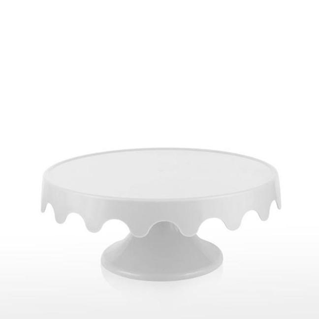 Boleira Branca 28 cm x 12 cm - unidade