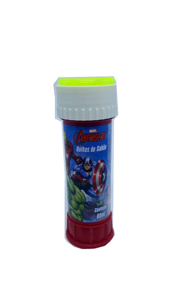Bolhas de Sabão Avengers 60 ml - unidade