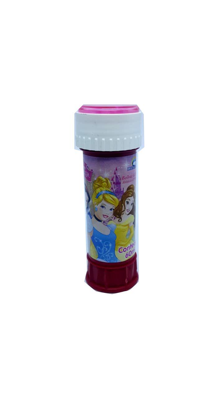 Bolhas de Sabão Princesas 60 ml - unidade