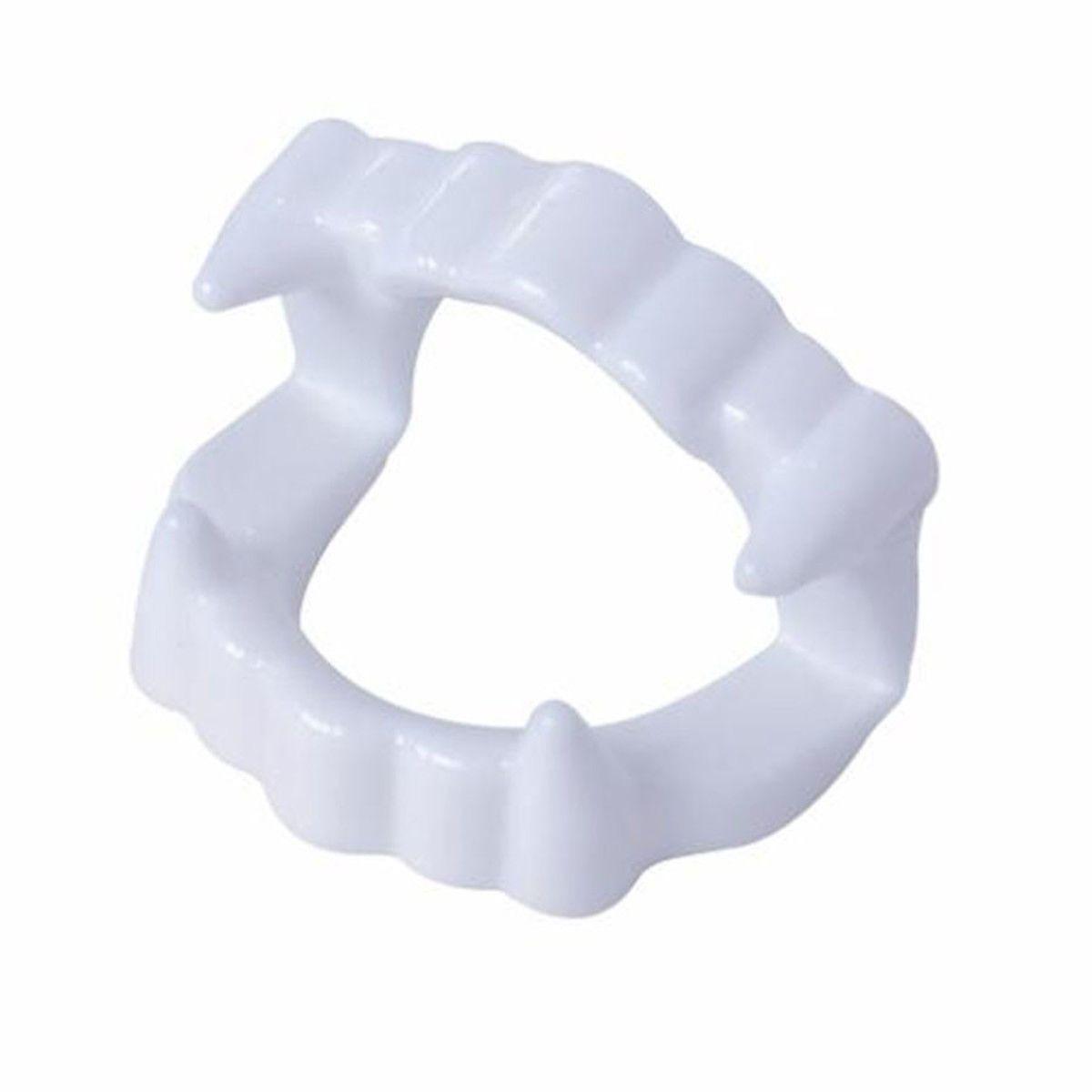 Brinquedo Dentadura Branca c/25 unidades