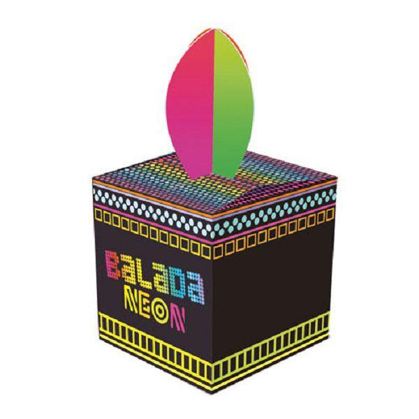 Caixa Lembrancinha Neon Party c/08 unidades
