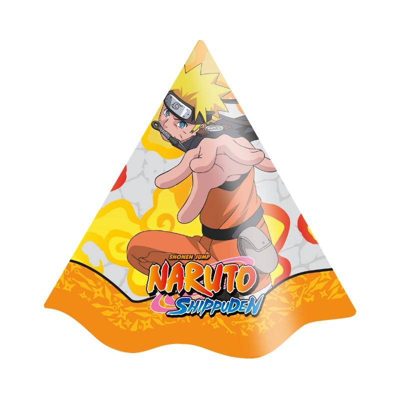 Chapéu Decorado Naruto c/08 unidades