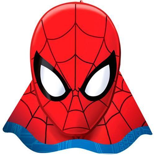 Chapéu Decorado Ultimate Spider Man c/08 unidades