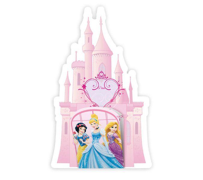Convite Princesas c/08 unidades