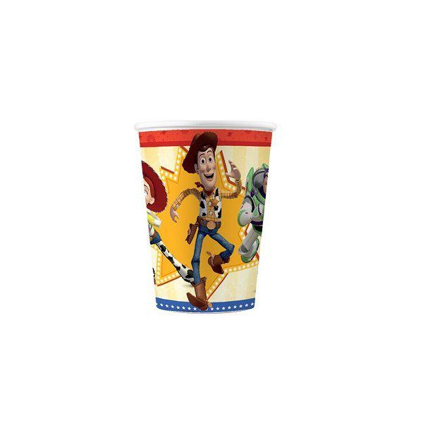Copo de Papel Decorado Toy Story 4 c/08 unidades - 180 ml