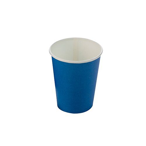 Copo de Papel Silver Plastic Azul Escuro c/10 unidades