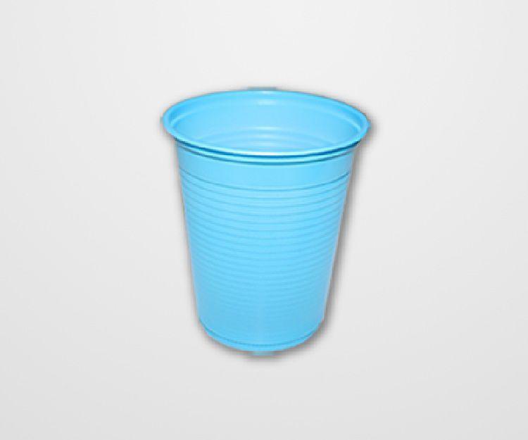 Copo Descartável Forfest Azul Claro c/50 unidades - 200 ml