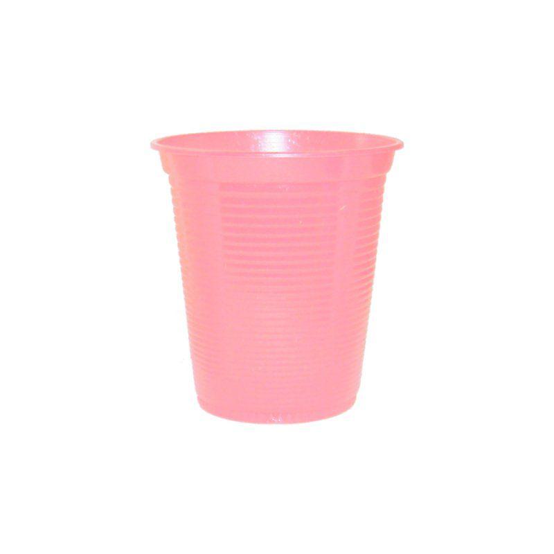 Copo Descartável Forfest Rosa Claro c/50 unidades - 200 ml