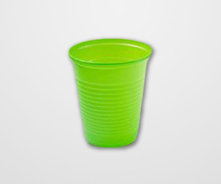 Copo Descartável Forfest Verde Limão c/50 unidades - 200 ml