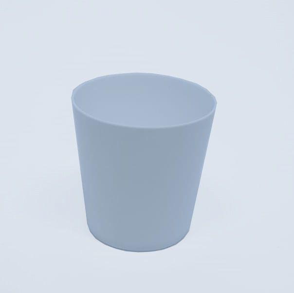 Copo Pic 025 Branco c/10 unidades - 25 ml