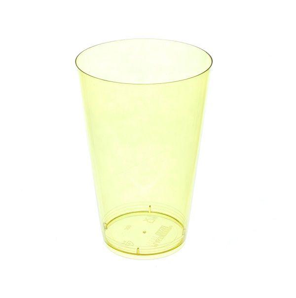 Copo Pic 040 Amarelo Limão c/10 unidades - 40 ml
