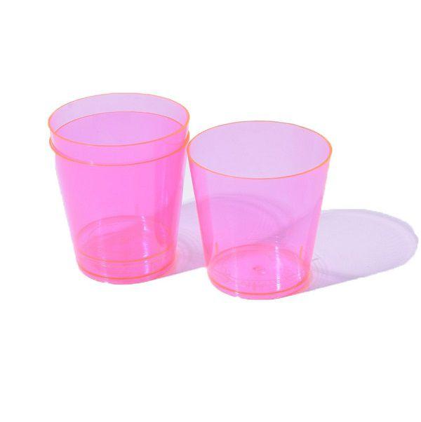 Copo Pic 040 Rosa c/10 unidades - 40 ml
