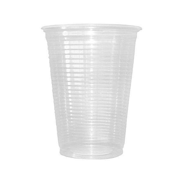 Copo Plástico Transparente c/100 unidades - 200 ml