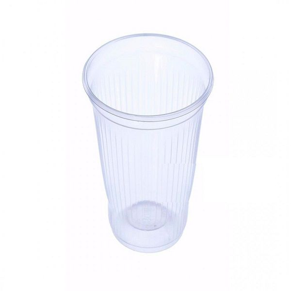 Copo Plástico Transparente c/100 unidades - 80 ml