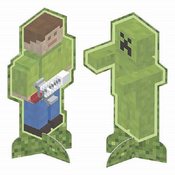 Enfeite de Mesa Mini Pixels c/08 unidades