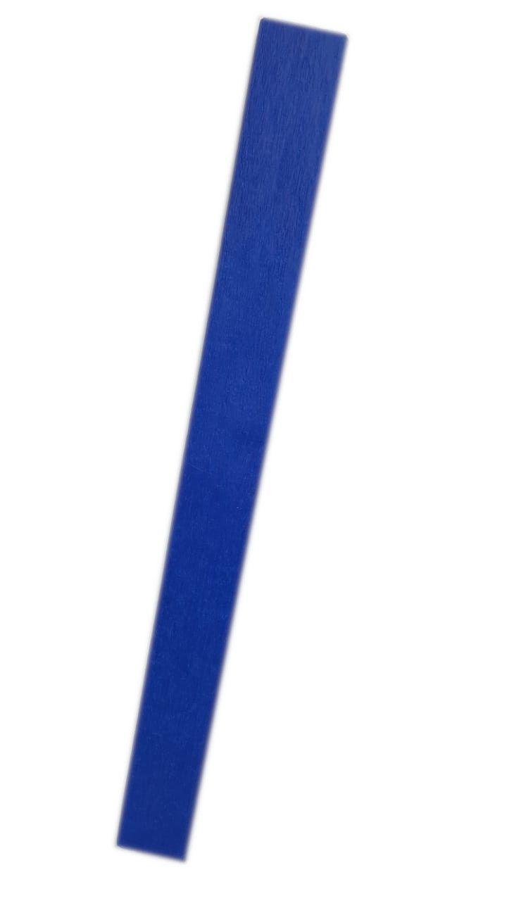 Folha Crepom Cor Azul Médio 48 cm x 2 m - unidade