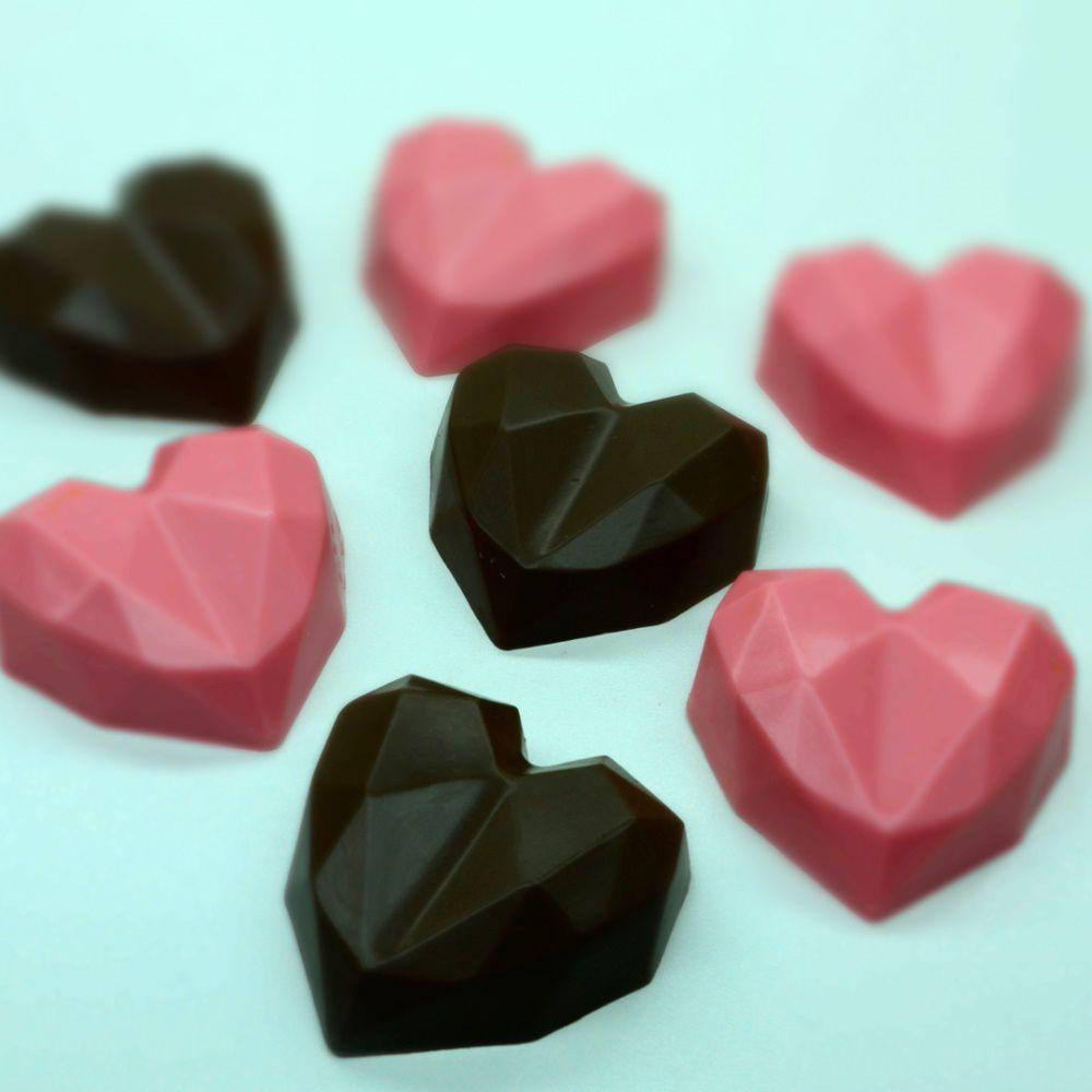 Forma especial Bwb Trufa Coração Lapidado
