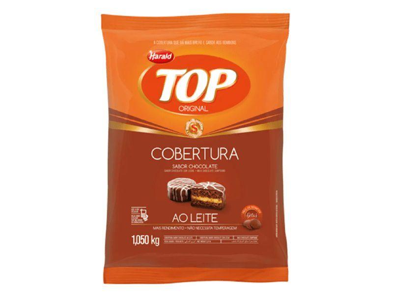 Harald Top Gotas Cobertura Chocolate Ao Leite 1,050 kg
